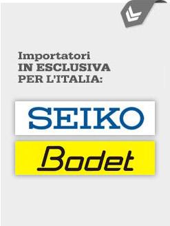 Importatori in esclusiva per l'Italia dei prodotti Seiko e Bodet