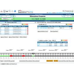 Software rilevazione presenze, accessi, gestione mobile
