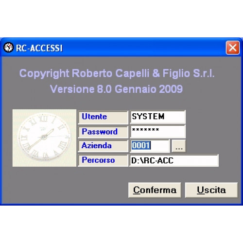 Software RC-ACCESSI