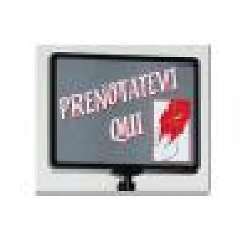 Eliminacode monoservizio - multisportello, cartello indicatore per distributore