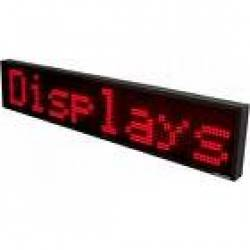 Display luminosi a led