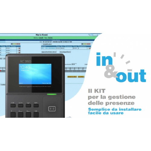 Kit In&Out Software gestione presenze