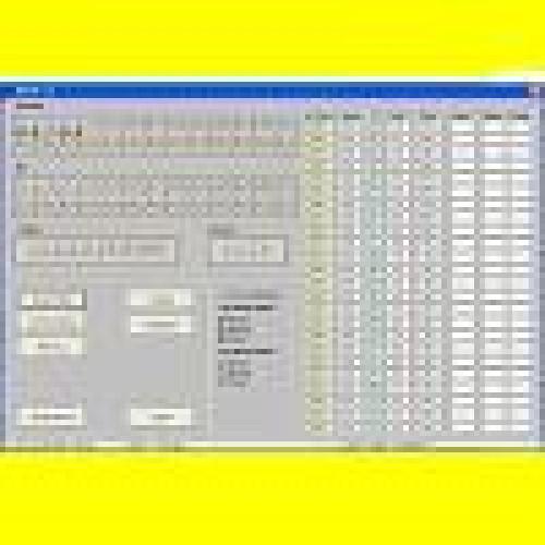 Software per gestione impianto e statistiche